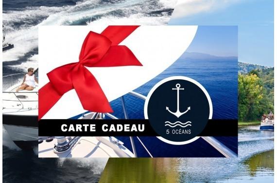 Permis cotier + fluvial Caen - Carte cadeau à imprimer 350€ (Au lieu de 400€, Promo du mois d'Octobre jusqu'au 31/10)