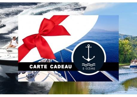 Permis cotier + fluvial Caen - Carte cadeau à imprimer 350€ (Au lieu de 400€, Promo du mois de septembre jusqu'au 30/09)