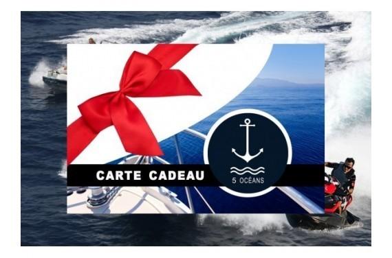 Permis côtier - Carte cadeau à imprimer 280€ (Au lieu de 350€, Promo jusqu'au 31/07)