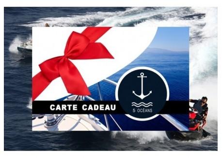 Permis côtier - Carte cadeau à imprimer 280€ (Au lieu de 350€, Promo du mois de septembre jusqu'au 30/09)